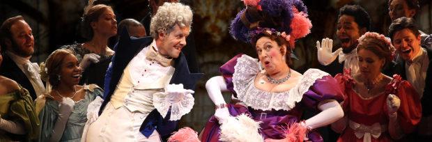 Rachel Izen as Madame Thenardier in Les Miserables on Broadway