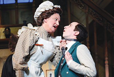 Rachel Izen as Mrs. Brill in Disney's MARY POPPINS
