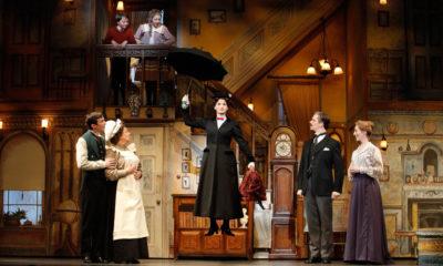 Dennis Moench, Rachel Izen, Caroline Sheen, Laird Mackintosh, and Blythe Wilson in Mary Poppins