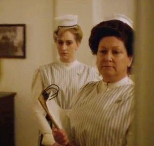 Rachel Izen as Nurse Braun on HBO's The Knick