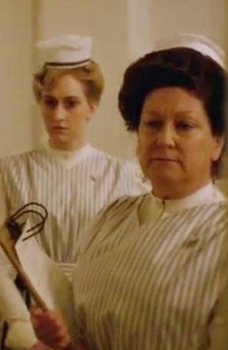 Rachel Izen as Nurse Braun on The Knick