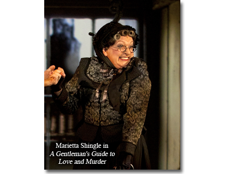 Rachel Izen as Marietta Shingle in A Gentleman's Guide to Love and Murder